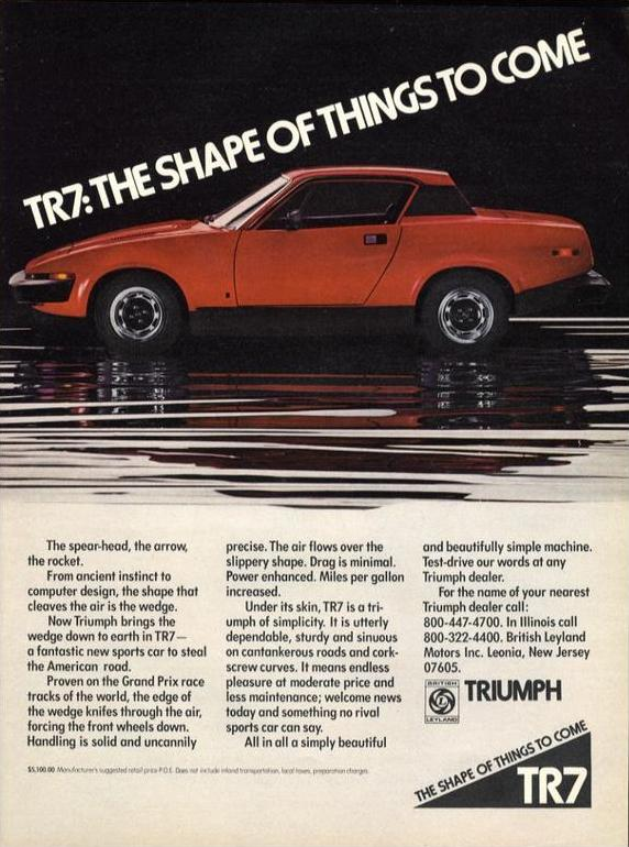 TR7: The Shape of Things to Come